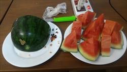 water melon、モーラミャイン・トラベル・インフォメーション、果物、フルーツ
