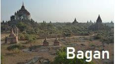 ミャンマー・トラベル・インフォメーション、バガンの観光情報ページへ