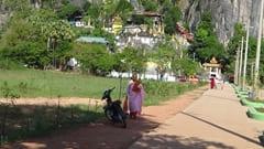 ミャンマー、パ・アン、パアンにあるバインニー洞窟。ここには温泉があります。