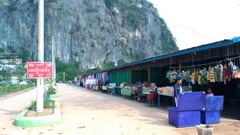 バインニー洞窟 Bayin Nyi Cave お土産屋さん