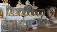 パ・アン、パアン、カウゴン洞窟、ブッダの彫刻、