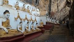 モーラミャイン旅行観光情報、パ・アン、パアン、カウゴン洞窟、ブッダ、仏像、大仏