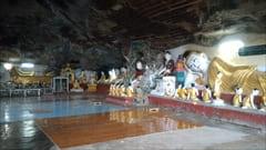 寝大仏、Reclining Big Buddha,カウゴン洞窟、モーラミャイン旅行観光情報、