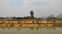 パ・アン、パアンにある、hpa an kyaut ka latt pagodaです。