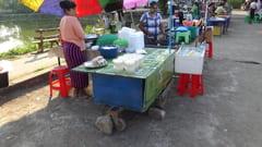 ミャンマーの屋台料理
