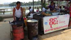 食べ物の写真 パ・アン Hpa-an ナイトマーケット Night Marketの写真