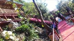 hpa an yathae pyan cave、パ・アンのヤッテッピャン洞窟、洞窟を抜けると展望台があります。ここからの眺めは最高です。