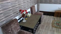 タトンのゲストハウス Khayan Pyar Guest House ベッドの写真