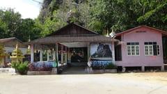 キャウッタロン・パゴダ Kyauk Ta Lone Pagoda Taung Mountain モーラミャイン Mawlamyine 長い階段 Stairs 写真 photo