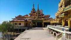 Kyaikkhami yae le pagoda photo、モーラミャイン、キャイッカミ、パゴダ、写真