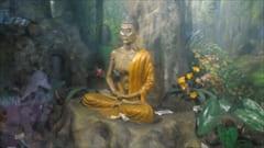 ミャンマー、モーラミャイン、キャイッカミ、写真、シーサイド、ブッダ、修行