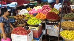 モーラミャイン旅行観光情報、フルーツ、ミャンマー、写真、安い、たくさん
