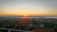 mawlamyine kyeik than lan pagoda、モーラミャイン旅行観光情報、写真、夕日、サンセット
