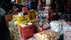 mawlamyine zeigyi no.2 market、 マーケット、食料品、肉、野菜、食べ物