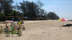 ミャンマー、モーラミャイン、Setse beach、セットセ・ビーチ、モーラミャイン、シルバービーチ、写真