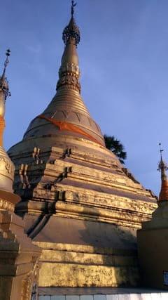 Shwe Nat Taung Pagoda 夕日 サンセット Sunset モーラミャイン Mawlamyine Myanmar ミャンマー