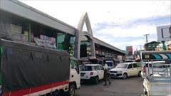 モーラミャイン、一番大きなマーケット、生活用品、お土産、mawlamyine zeigyi central market 写真