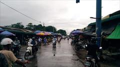 ミャンマー、モーラミャイン、果物、フルーツ、ゼイジーマーケット