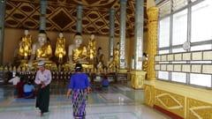タトンにあるShwe Sar Yan Pagodaの写真 入口
