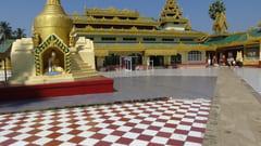 タトンにあるShwe Sar Yan Pagodaの写真 パゴダの外の写真